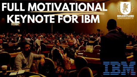 Richie Contartesi Speaks at IBM